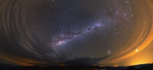 Atacama storm